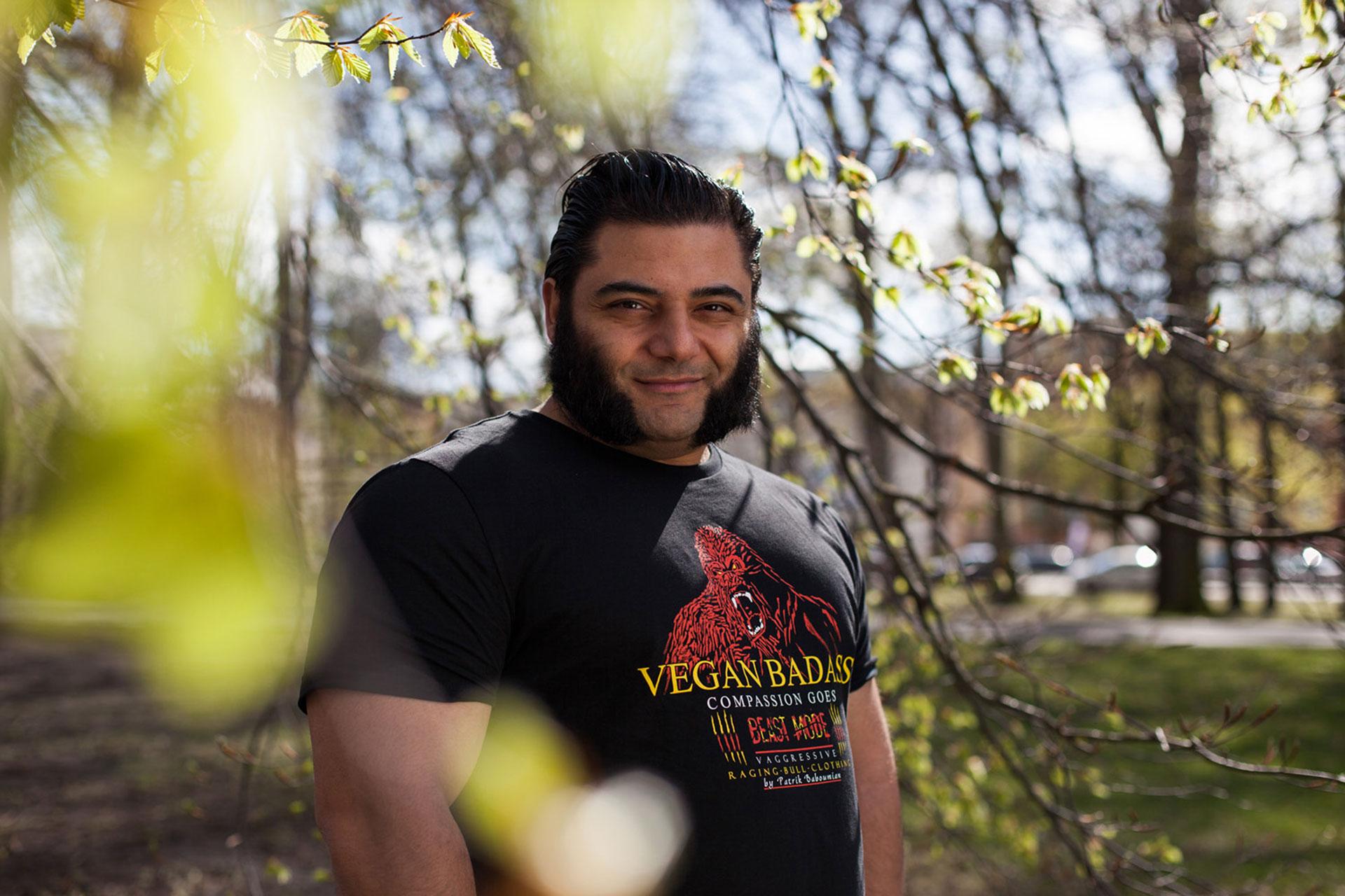 Patrik Baboumian for Animal Equality